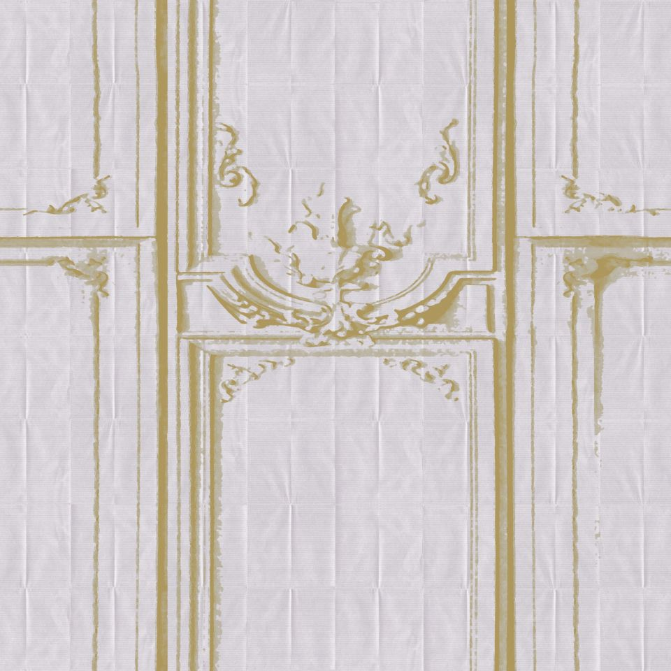 La Belle Et La Bête 02 Wallpaper Pleats Elitis