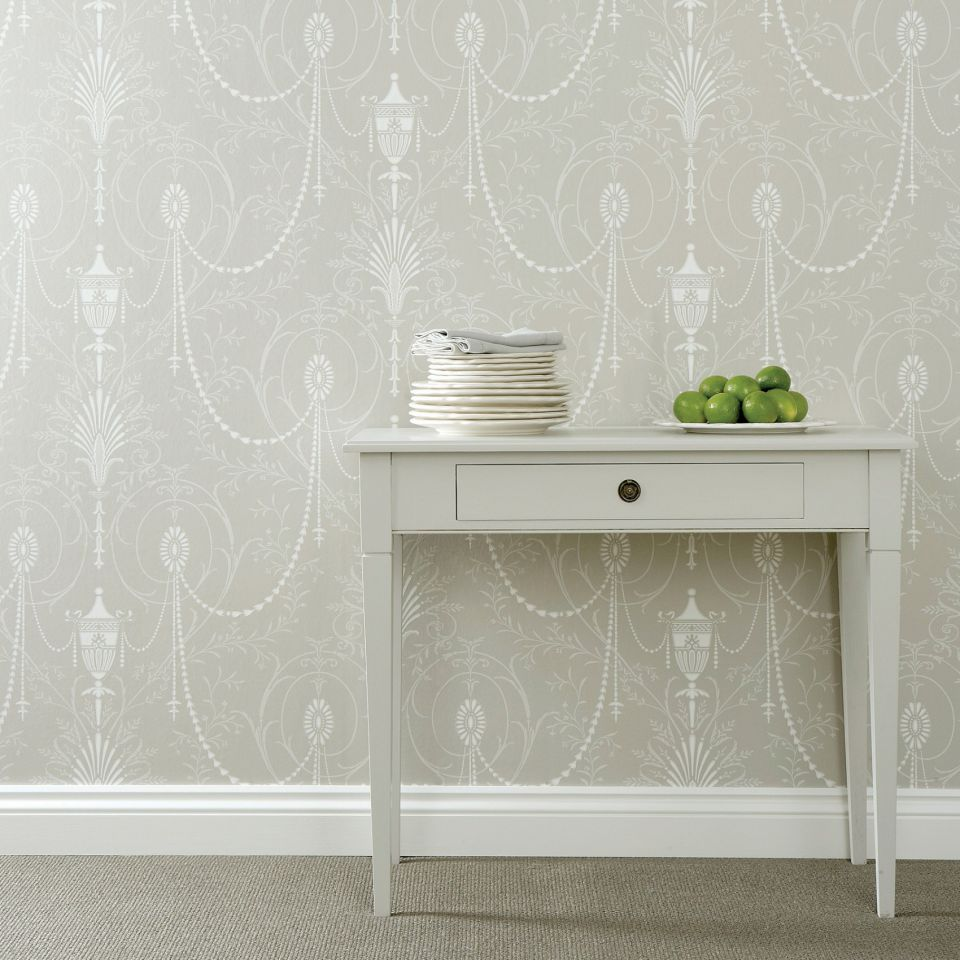 marlborough paris grey wallpaper london wallpapers ii little greene. Black Bedroom Furniture Sets. Home Design Ideas