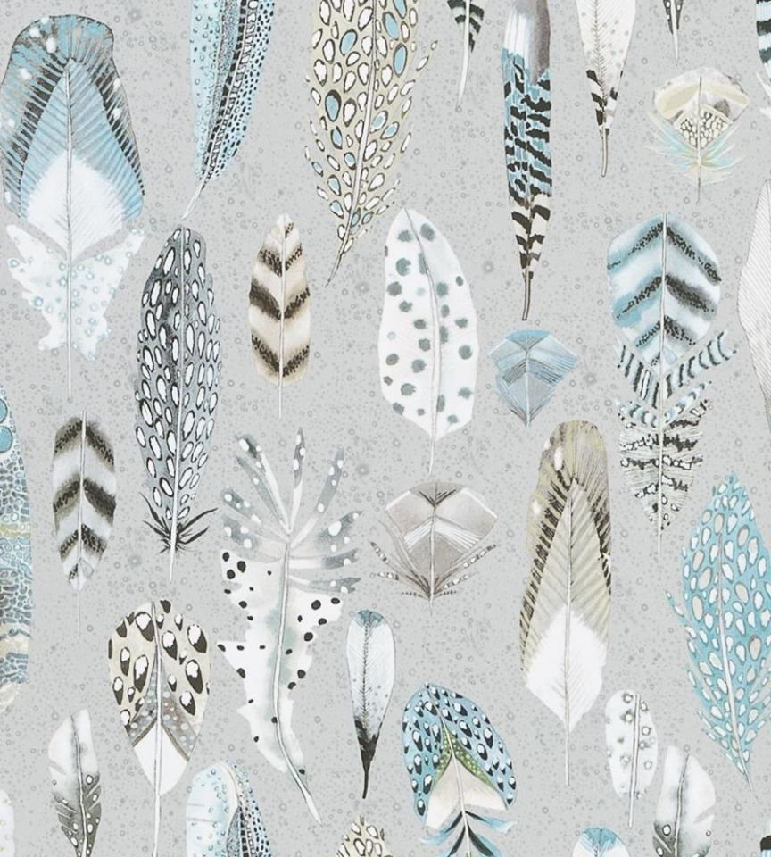 Designers Guild Behang.Quill Duckegg Wallpaper Tulipa Stellata Designers Guild