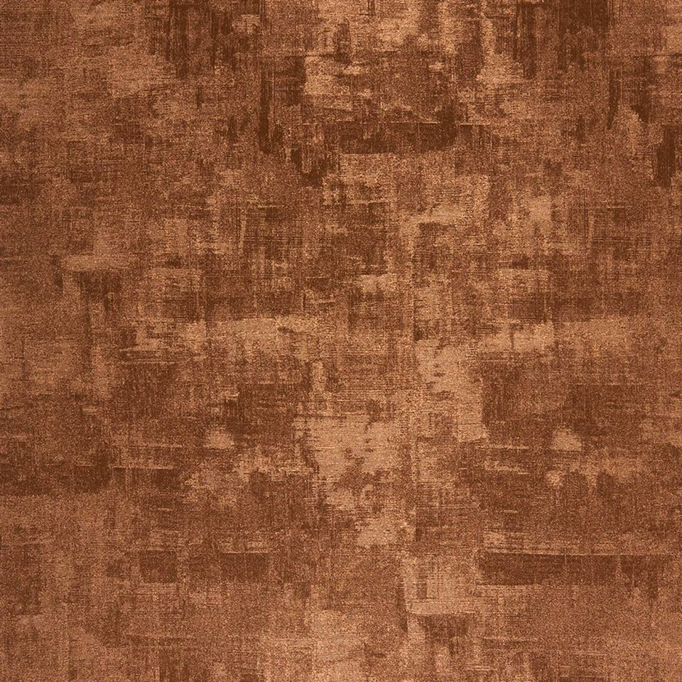 Uni copper wallpaper majestic casadeco for Wall looking wallpaper