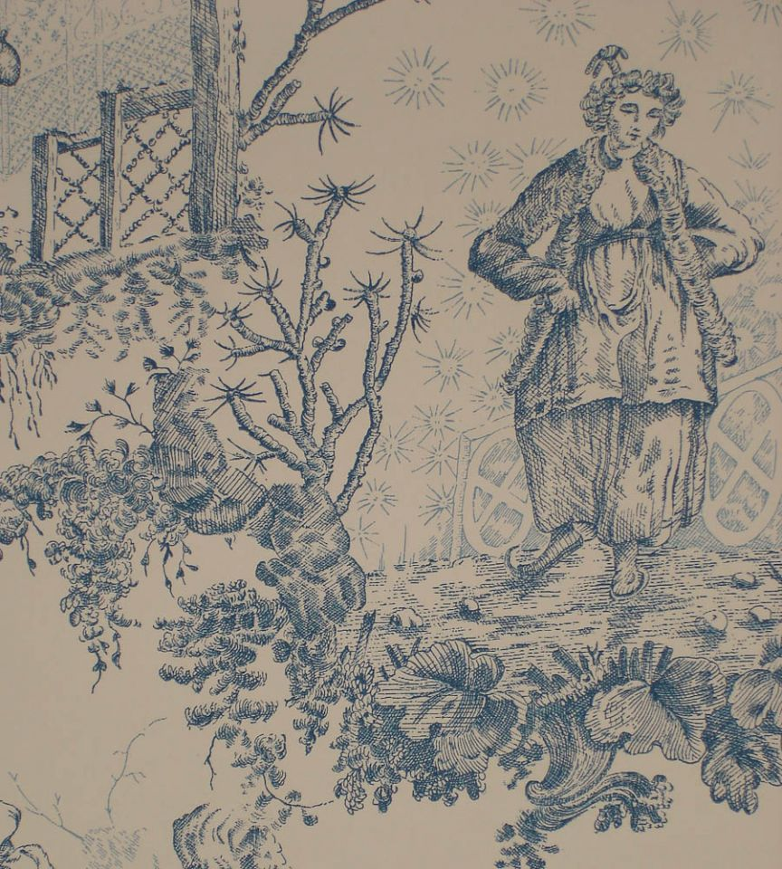 Chinese Toile - Ming Blue