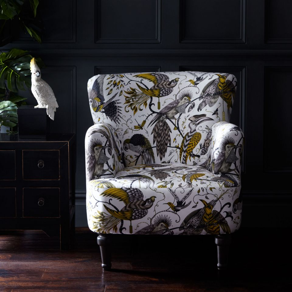 Dalston Chair U2013 Audubon Gold
