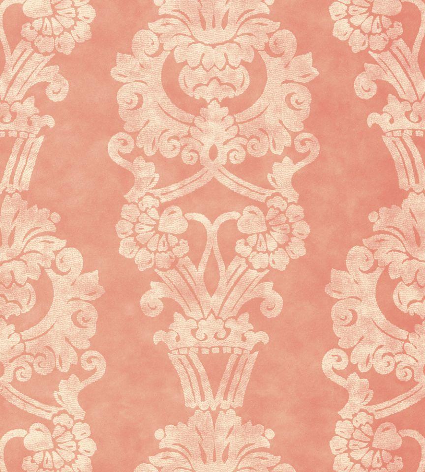 Abington Pink Wallpaper Zola Wallpaper Anna French