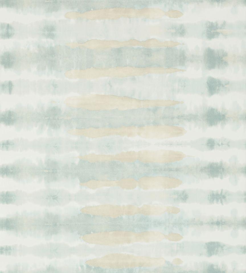 Margate Aqua Wallpaper Watermark Anna French
