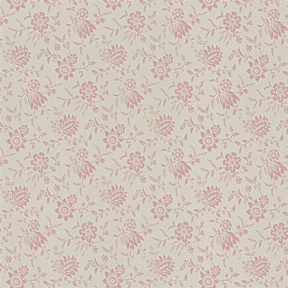 Scrimshaw Floral Shell Wallpaper Signature Islesboro Ralph