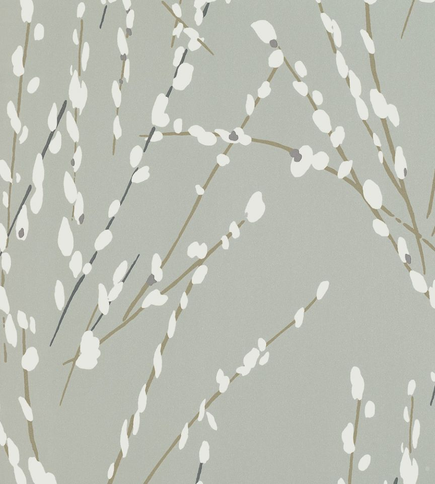 Mikado - Fog wallpaper | Floris | Romo