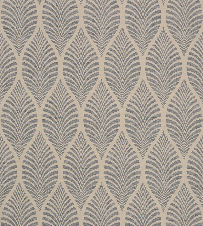Deilen - Slate on Linen wallpaper | Zola Wallpaper | Anna ...