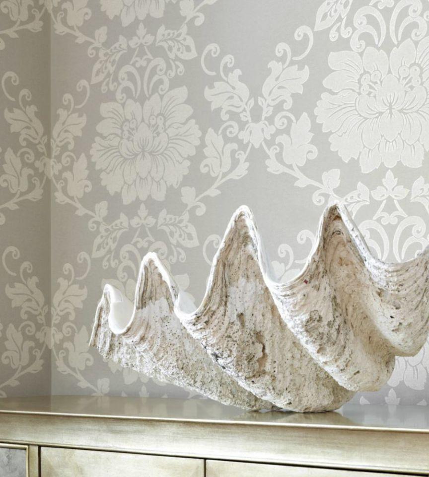 St Germain - Grey wallpaper | Lyric Wallpaper | Anna French