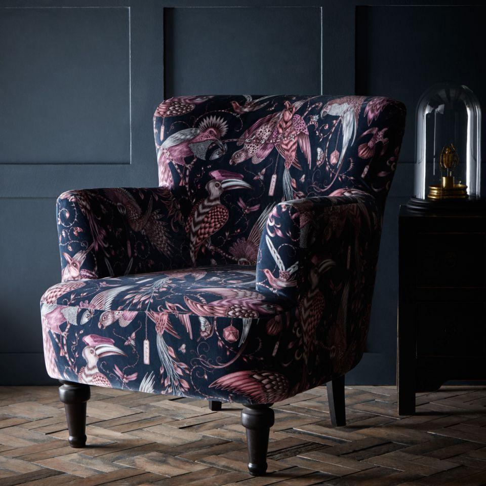 Dalston Chair U2013 Audubon Pink