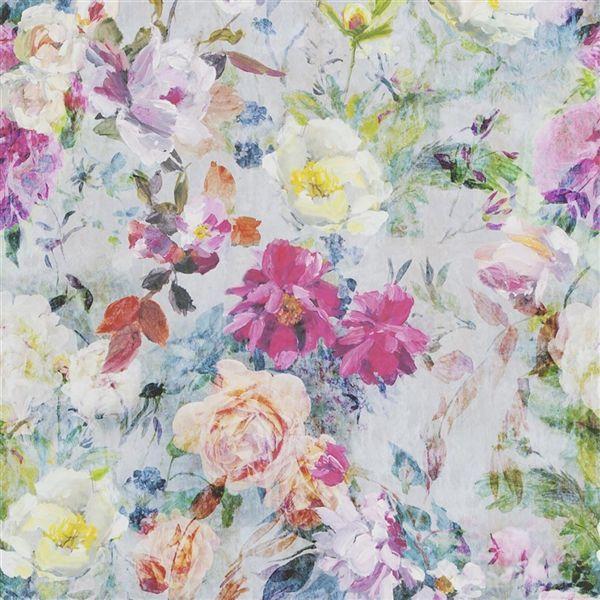 Marianne - Fuchsia Wallpaper